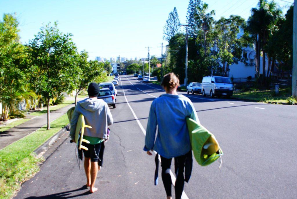 Surf i Australien