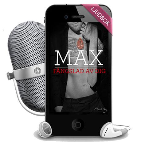 Max fängslad av dig ljudbok