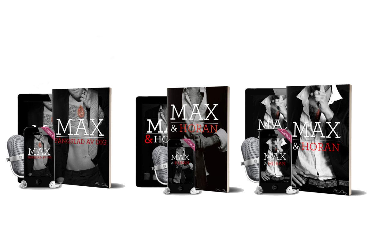 Köp den kritikerrosade bokserien Max och Horan